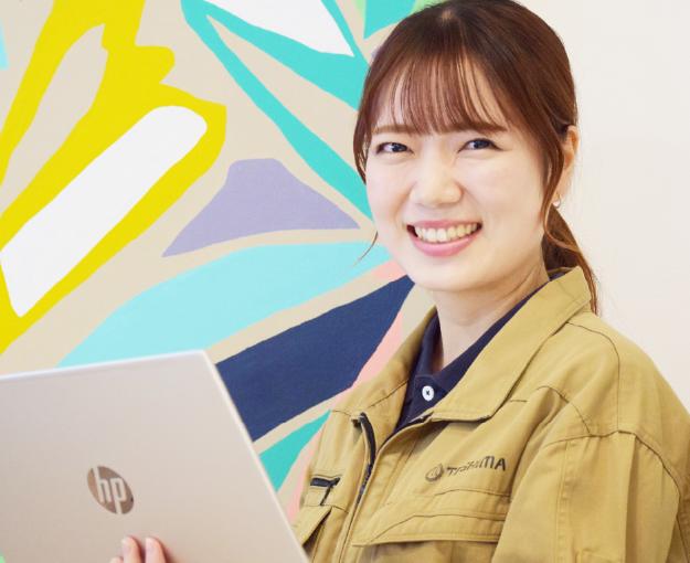 「2011年4月入社 営業部 Oさん」の写真